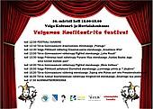 Kooliteatrite festival toob kokku maakondlikud näitetrupid