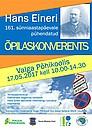 Hans Eineri nimeline õpilaskonverents toimub taas