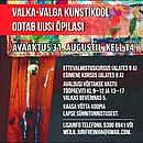 Ootame lapsi Valka kunstikooli eestikeelsetesse õpperühmadesse!